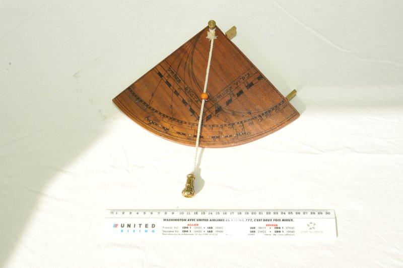 fabriquer un sextant